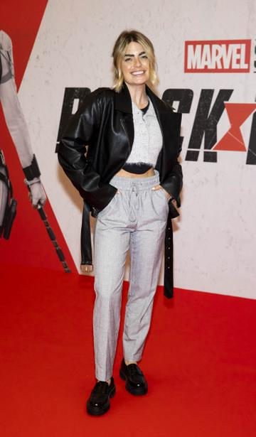 Lauren Arthurs pictured at the Irish Special Preview Screening Marvel Studios Black Widow. Picture Andres Poveda