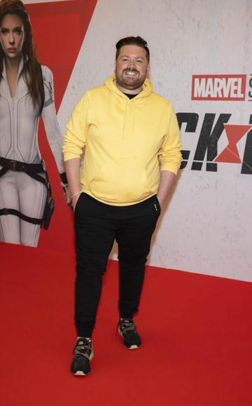 Thomas Cross pictured at the Irish Special Preview Screening Marvel Studios Black Widow. Picture Andres Poveda