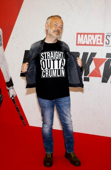 Rick O'Shea pictured at the Irish Special Preview Screening Marvel Studios Black Widow. Picture Andres Poveda
