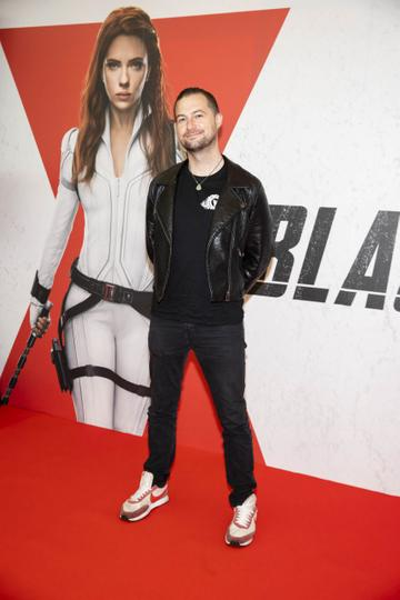Fergal D'Arcy pictured at the Irish Premier Screening of Marvel Studios Black Widow. Picture Andres Poveda
