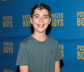Lead Actor Ryan Minogue-Lee pictured at the gala preview screening of Poster Boys at Omniplex , Rathmines,Dublin.  Picture PIP