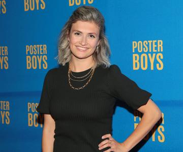 Actress Amy Hughes pictured at the gala preview screening of Poster Boys at Omniplex , Rathmines,Dublin. Poster Boys will be in cinemas from July 9th  Picture PIP