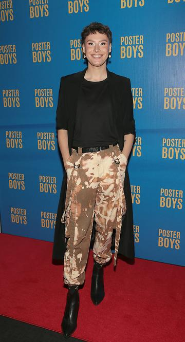 Patrick Blue  pictured at the gala preview screening of Poster Boys at Omniplex , Rathmines,Dublin.  Picture PIP
