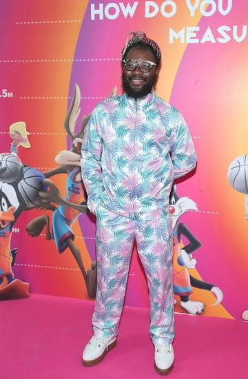 Timi Ogunyemi at the Irish Premiere screening of Space Jam : A New Legacy at the Odeon Cinema in Point Square,Dublin Picture PIP