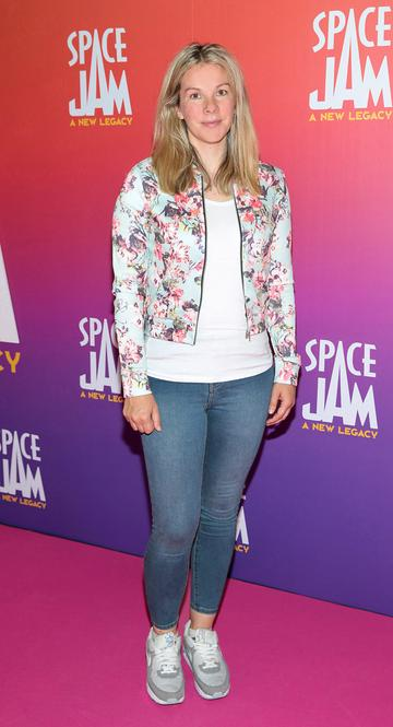 Marie Crowe at the Irish Premiere screening of Space Jam : A New Legacy at the Odeon Cinema in Point Square,Dublin Picture PIP