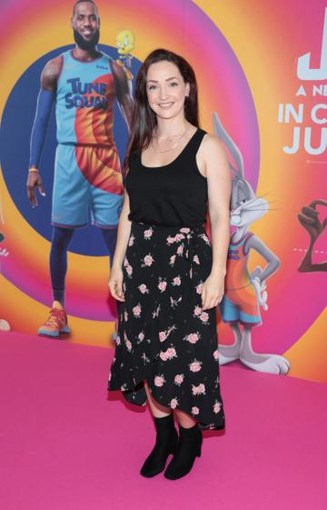 Emma Mahoney at the Irish Premiere screening of Space Jam : A New Legacy at the Odeon Cinema in Point Square,Dublin Picture PIP