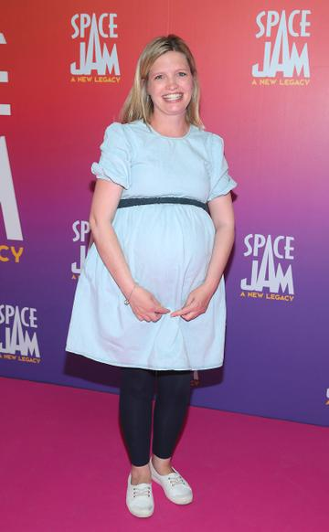 Elaine Dermody at the Irish Premiere screening of Space Jam : A New Legacy at the Odeon Cinema in Point Square,Dublin Picture PIP