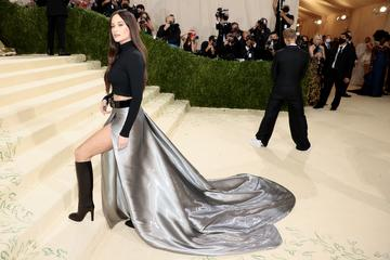 NEW YORK, NEW YORK - SEPTEMBER 13: Kacey Musgraves attends The 2021 Met Gala Celebrating In America: A Lexicon Of Fashion at Metropolitan Museum of Art on September 13, 2021 in New York City. (Photo by Dimitrios Kambouris/Getty Images for The Met Museum/Vogue )