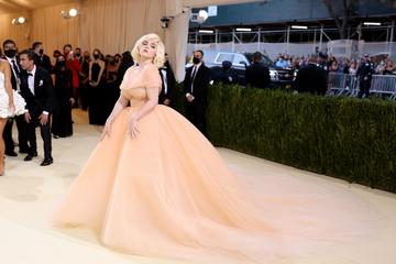 NEW YORK, NEW YORK - SEPTEMBER 13: Co-chair Billie Eilish attends The 2021 Met Gala Celebrating In America: A Lexicon Of Fashion at Metropolitan Museum of Art on September 13, 2021 in New York City. (Photo by John Shearer/WireImage)