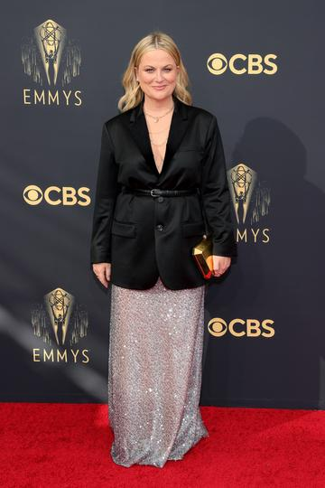 LOS ANGELES, CALIFORNIA - SEPTEMBER 19: Amy Poehler attends the 73rd Primetime Emmy Awards at L.A. LIVE on September 19, 2021 in Los Angeles, California. (Photo by Rich Fury/Getty Images)