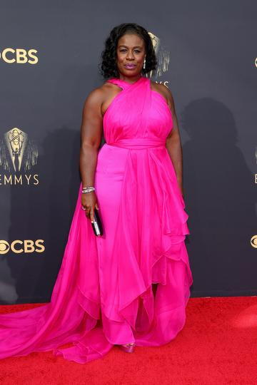 LOS ANGELES, CALIFORNIA - SEPTEMBER 19: Uzo Aduba attends the 73rd Primetime Emmy Awards at L.A. LIVE on September 19, 2021 in Los Angeles, California. (Photo by Rich Fury/Getty Images)