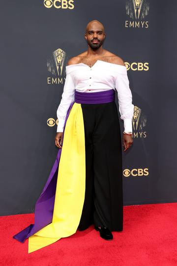LOS ANGELES, CALIFORNIA - SEPTEMBER 19: Carl Clemons-Hopkins attends the 73rd Primetime Emmy Awards at L.A. LIVE on September 19, 2021 in Los Angeles, California. (Photo by Rich Fury/Getty Images)