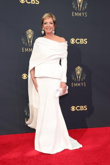 LOS ANGELES, CALIFORNIA - SEPTEMBER 19: Allison Janney attends the 73rd Primetime Emmy Awards at L.A. LIVE on September 19, 2021 in Los Angeles, California. (Photo by Rich Fury/Getty Images)