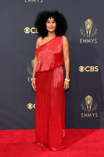 LOS ANGELES, CALIFORNIA - SEPTEMBER 19: Tracee Ellis Ross attends the 73rd Primetime Emmy Awards at L.A. LIVE on September 19, 2021 in Los Angeles, California. (Photo by Rich Fury/Getty Images)
