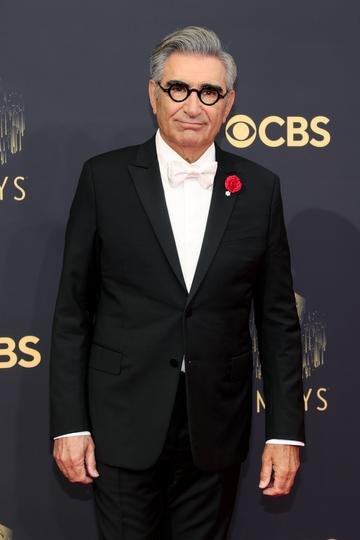 LOS ANGELES, CALIFORNIA - SEPTEMBER 19: Eugene Levy attends the 73rd Primetime Emmy Awards at L.A. LIVE on September 19, 2021 in Los Angeles, California. (Photo by Rich Fury/Getty Images)