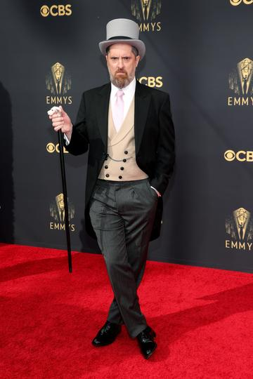 LOS ANGELES, CALIFORNIA - SEPTEMBER 19: Brendan Hunt attends the 73rd Primetime Emmy Awards at L.A. LIVE on September 19, 2021 in Los Angeles, California. (Photo by Rich Fury/Getty Images)