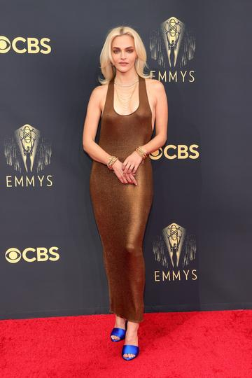 LOS ANGELES, CALIFORNIA - SEPTEMBER 19: Madeline Brewer attends the 73rd Primetime Emmy Awards at L.A. LIVE on September 19, 2021 in Los Angeles, California. (Photo by Rich Fury/Getty Images)