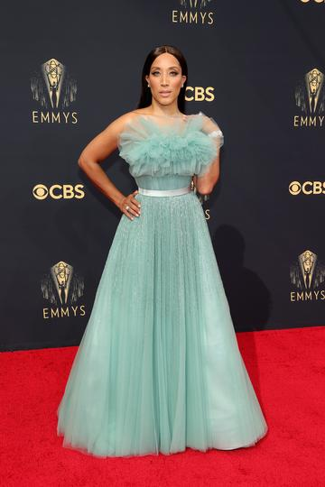 LOS ANGELES, CALIFORNIA - SEPTEMBER 19: Robin Thede attends the 73rd Primetime Emmy Awards at L.A. LIVE on September 19, 2021 in Los Angeles, California. (Photo by Rich Fury/Getty Images)