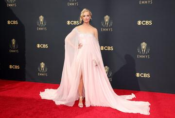LOS ANGELES, CALIFORNIA - SEPTEMBER 19: Beth Behrs attends the 73rd Primetime Emmy Awards at L.A. LIVE on September 19, 2021 in Los Angeles, California. (Photo by Rich Fury/Getty Images)
