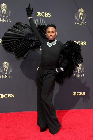 LOS ANGELES, CALIFORNIA - SEPTEMBER 19: Billy Porter attends the 73rd Primetime Emmy Awards at L.A. LIVE on September 19, 2021 in Los Angeles, California. (Photo by Rich Fury/Getty Images)