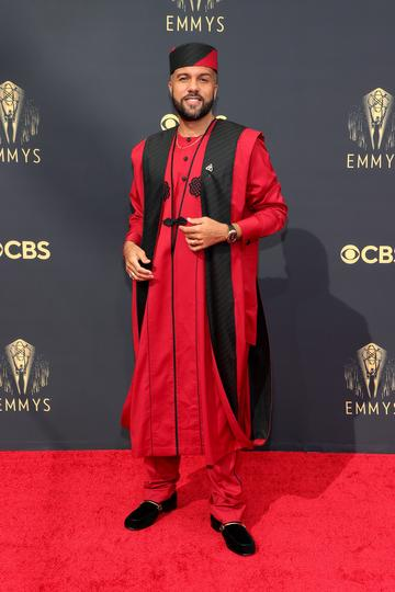 LOS ANGELES, CALIFORNIA - SEPTEMBER 19: O-T Fagbenle attends the 73rd Primetime Emmy Awards at L.A. LIVE on September 19, 2021 in Los Angeles, California. (Photo by Rich Fury/Getty Images)